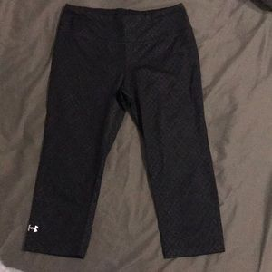 Cute black Under Armour Crop Leggings